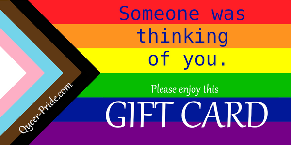 Thinking of You Rainbow Gift Card - Ninja Ferret