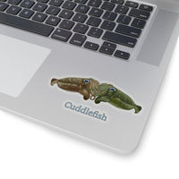 Cuddlefish Sticker - Ninja Ferret