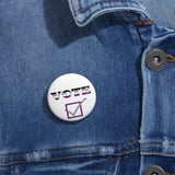 Vote v2 Asexual | Pin Buttons - Ninja Ferret