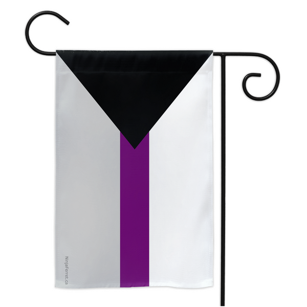 Demisexual Pride Yard Flag - Ninja Ferret