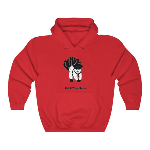 Cat O'Nine Tails Unisex Heavy Blend™ Hooded Sweatshirt - Ninja Ferret