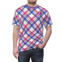 Bumble Bi Plaid Unisex Tee - Ninja Ferret