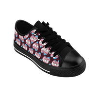 Heart of Hearts Men's Sneakers - Transgender/Burgundy - Ninja Ferret