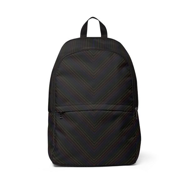 Rainbow Pinstriped Backpack - Ninja Ferret