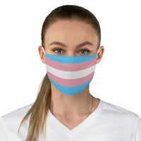 Trans Pride Fabric Face Mask - Ninja Ferret