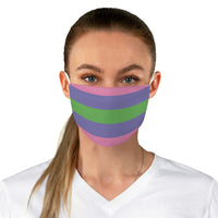 Trigender Pride Fabric Face Mask - Ninja Ferret