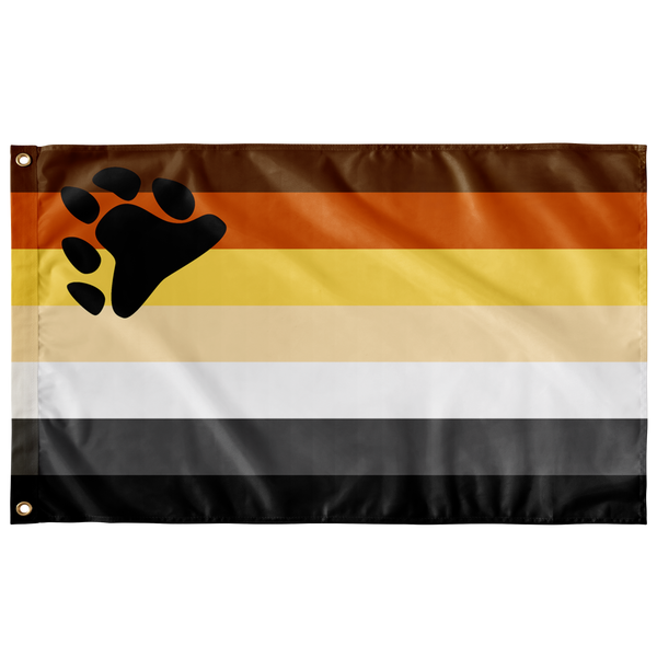Bear Pride Flag - Ninja Ferret