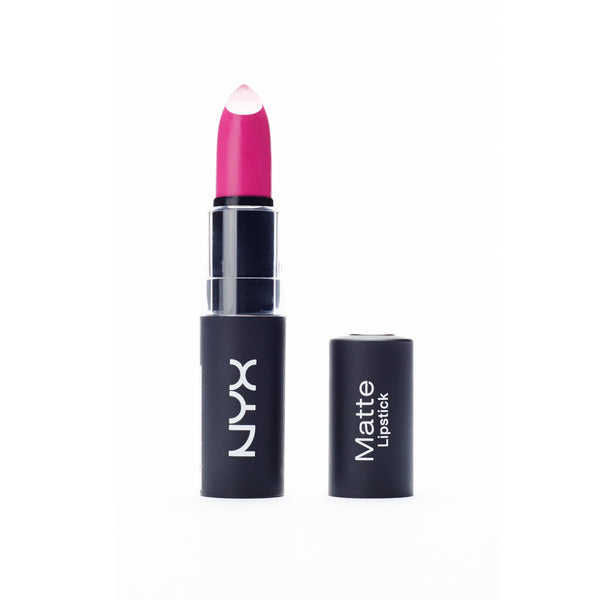 NYX Matte Lipstick - Shocking Pink Rose Intense