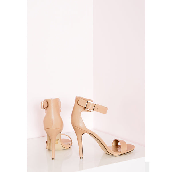 Nudist Single Strap Sandal
