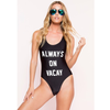 Always on Vacay Monokini (More Colors)