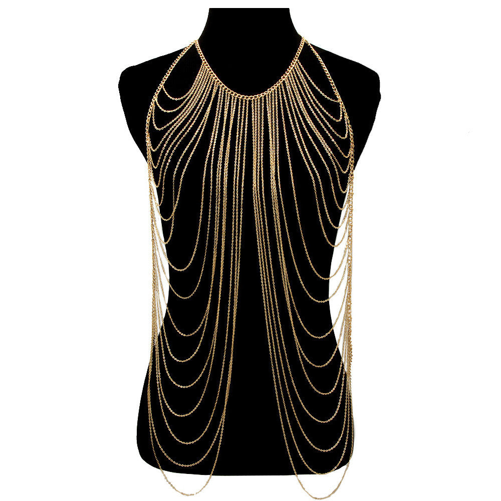 Gold Rush Body Chain