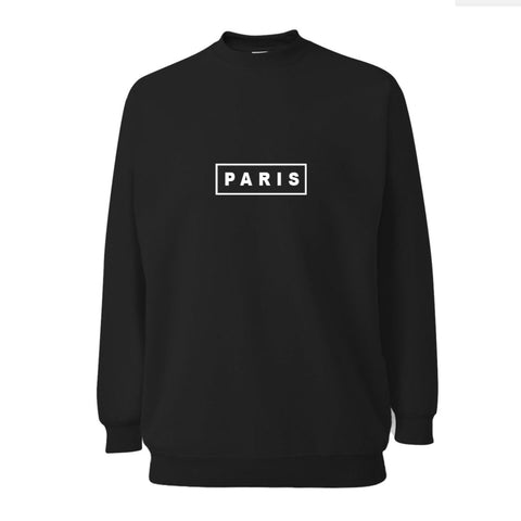 Paris Oversized Sweatshirt