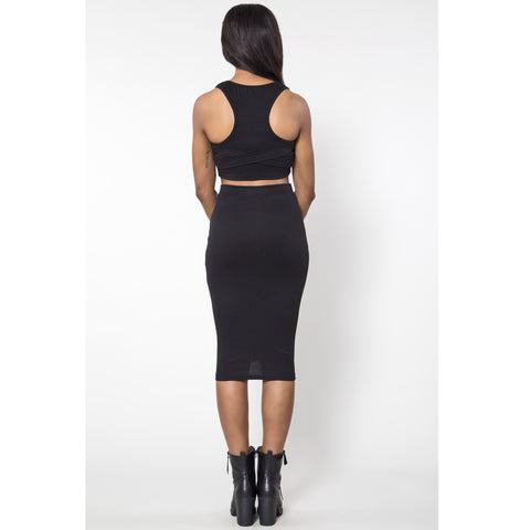 Basiq Instincts Dress Set - Black