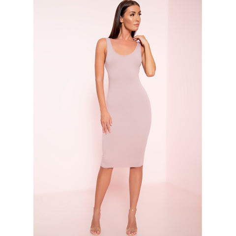 Essential Midi Tank Dress