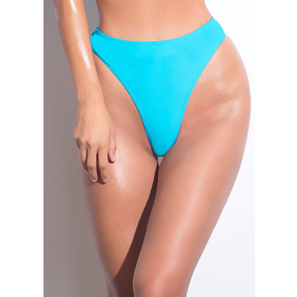 High Cut High Waist Thong Bottoms