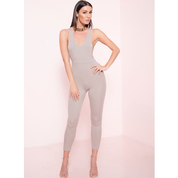 Low Sides Capri Jumpsuit