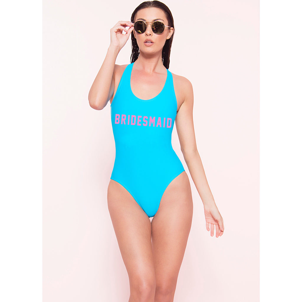 Malibu Bridesmaid Monokini