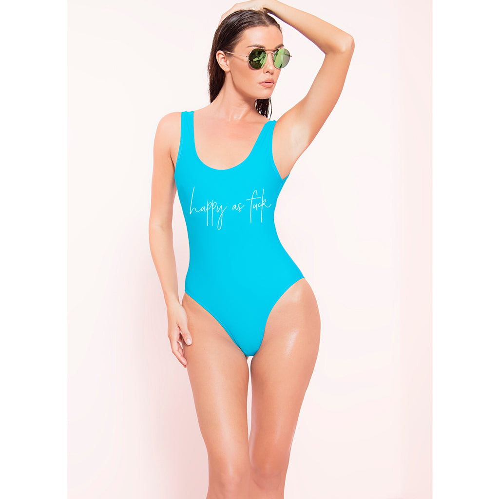 Happy AF Monokini (More Colors)