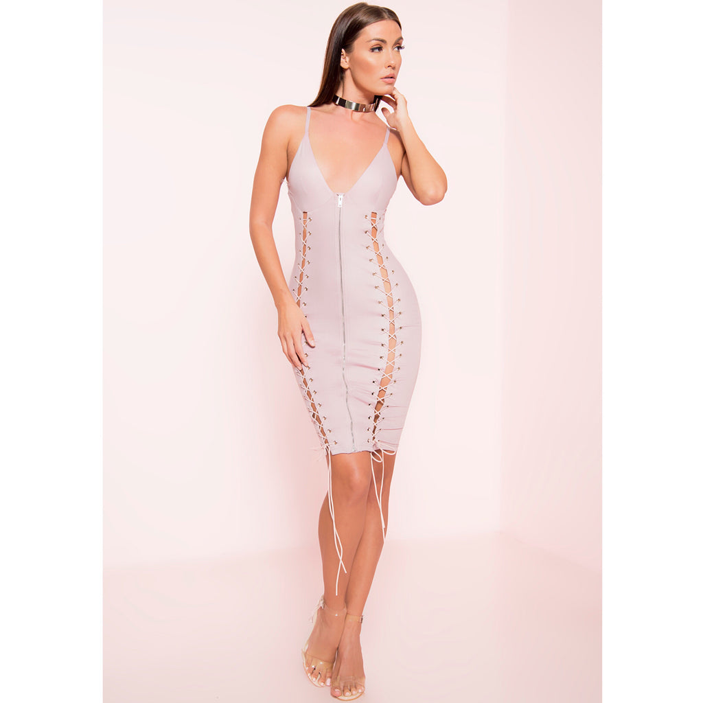 Tension Bodycon Midi Dress (+Colors)