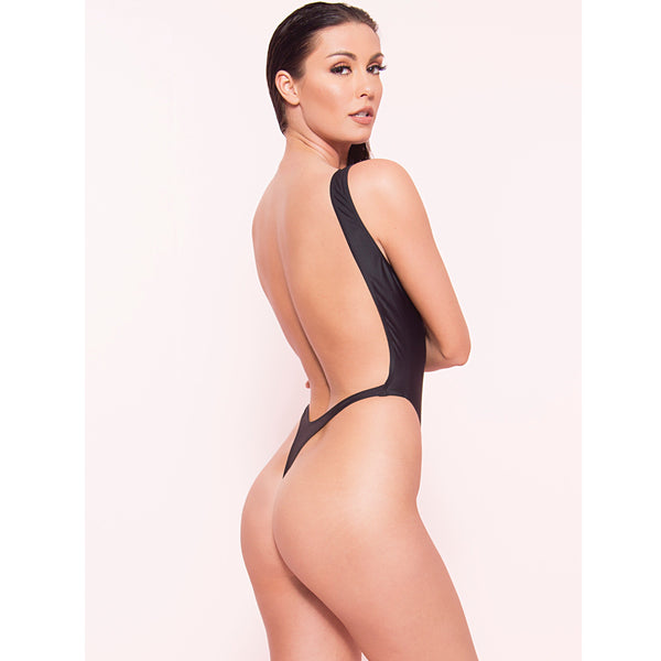 High Cut Thong Monokini (More Colors)