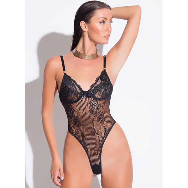 Mademoiselle Lace Underwire Bodysuit