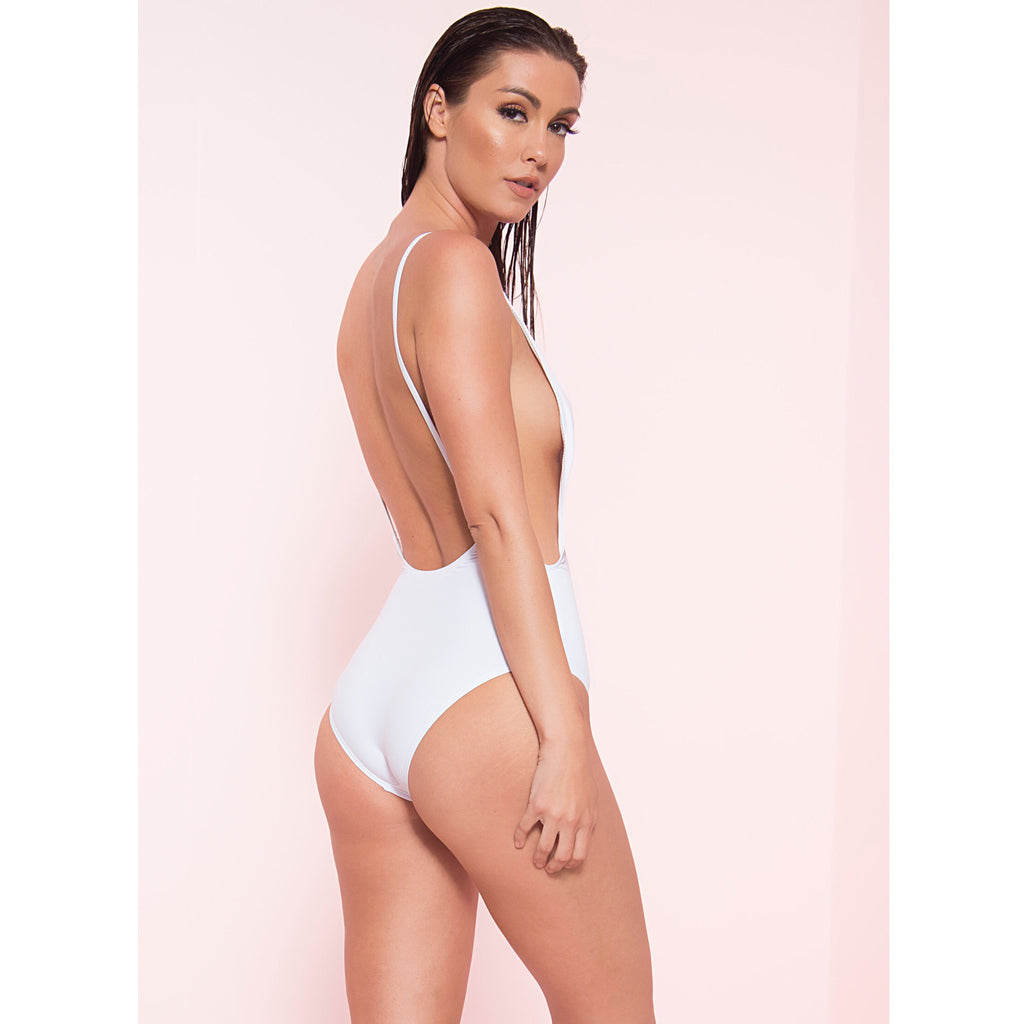 Low Back Monokini (More Colors)