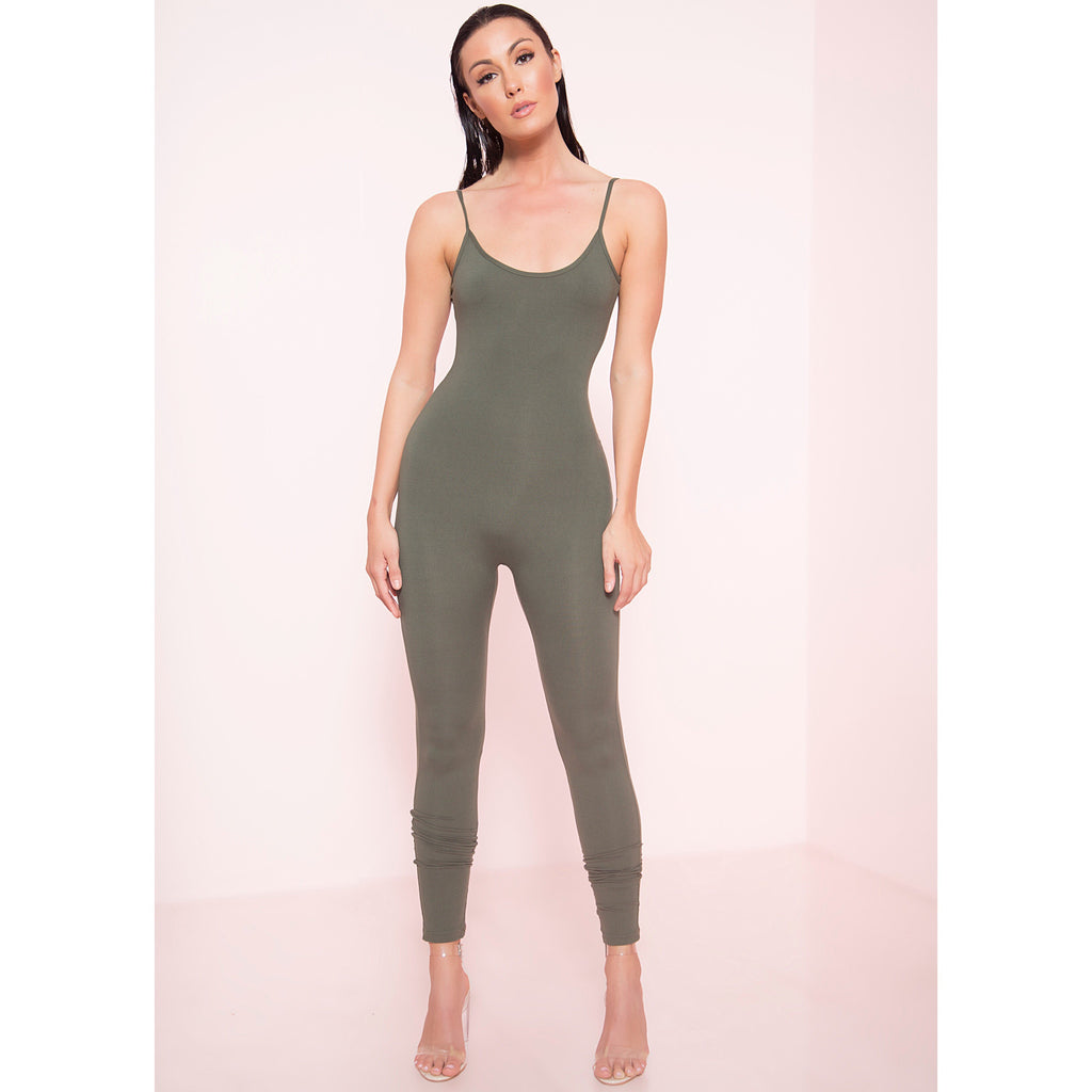 Thin Strap Unitard (More Colors)