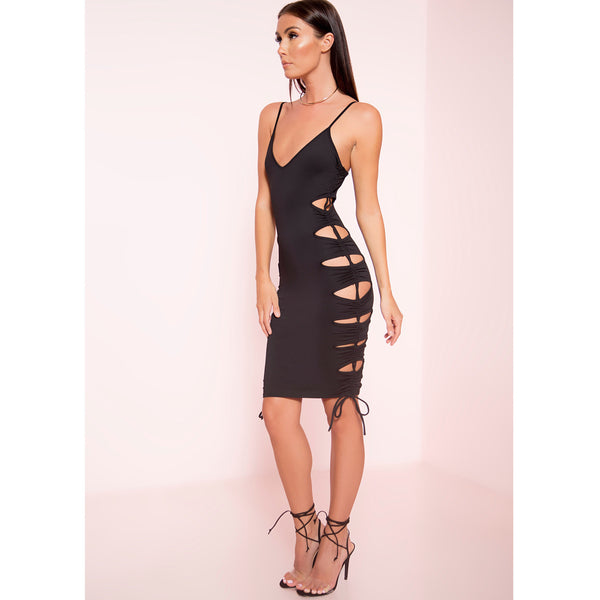 Taking Sides Midi Dress