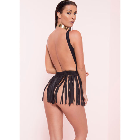 Fringe Beach Skirt (More Colors)