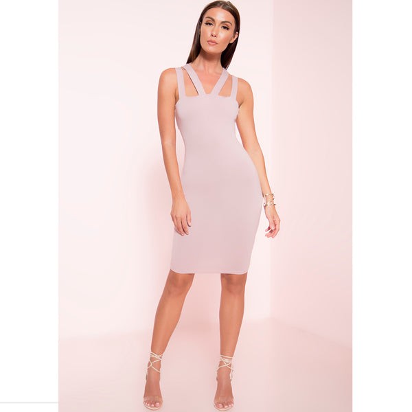 Strappy Bodycon Dress (More Colors)