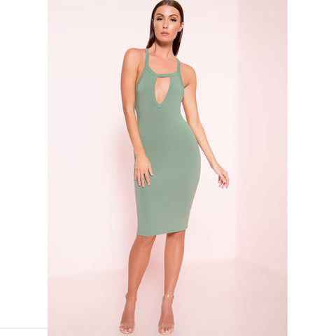 Keyhole Bodycon (More Colors)