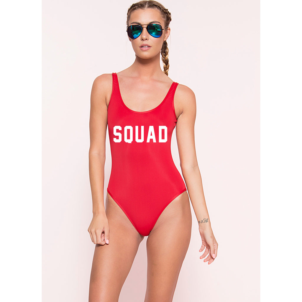 Squad Monokini (More Colors)