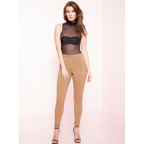 High Waist Stretch Skinnies (More Colors)