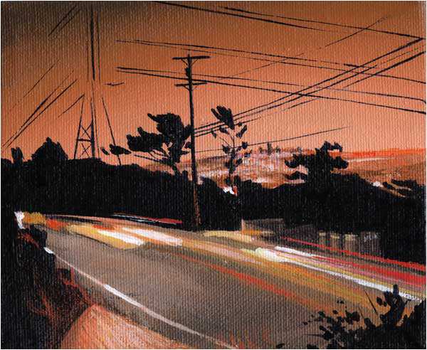 Mulholland Study Orange