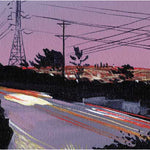Mulholland Study Purple