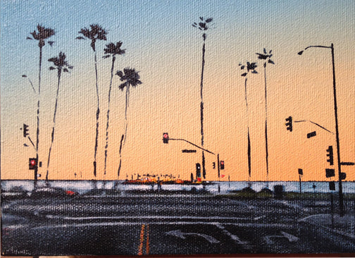 Sunset On<br>Ocean Blvd #1<br> Long Beach