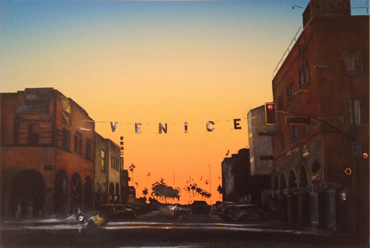 Sunset on<br> Venice Beach #2<br> Windward Ave