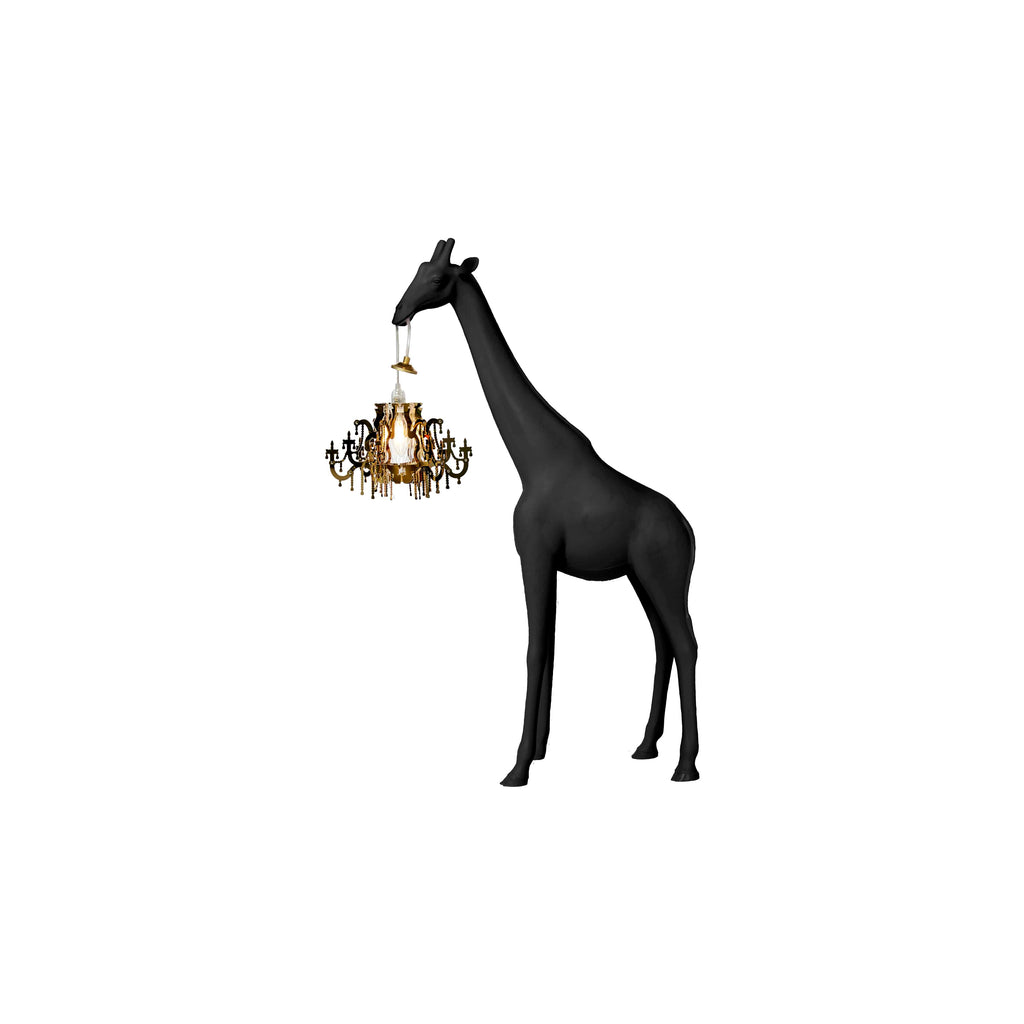 Giraffe In Love - Black - Qeeboo - Shop now at Sans Tabù