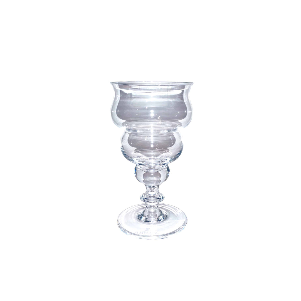 Bichierografia Wine Goblet Crystal Glass - Pampaloni - Shop Now at Sans Tabù