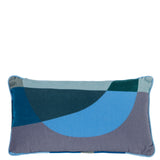 Cushion Love Rectangular in Cotton Velvet - Midnight Blue - Eros Ludique - Sans Tabù