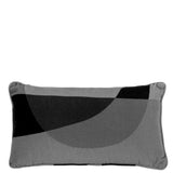 Cushion Love Rectangular in Cotton Velvet - Black - Eros Ludique - Sans Tabù
