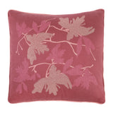 Cushion in Silk and Lurex Jacquard Fil Coupé - Old Rose Metallic - Garden Delights - Sans Tabù