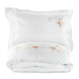 Cushion Peachblossom in Silk and Lurex Jacquard Fil Coupé - Old Rose Metallic - Garden Delights - Sans Tabù
