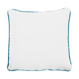 Cushion Aristo Pop in cotton velvet - White-  Renaissance Pop - Sans Tabù