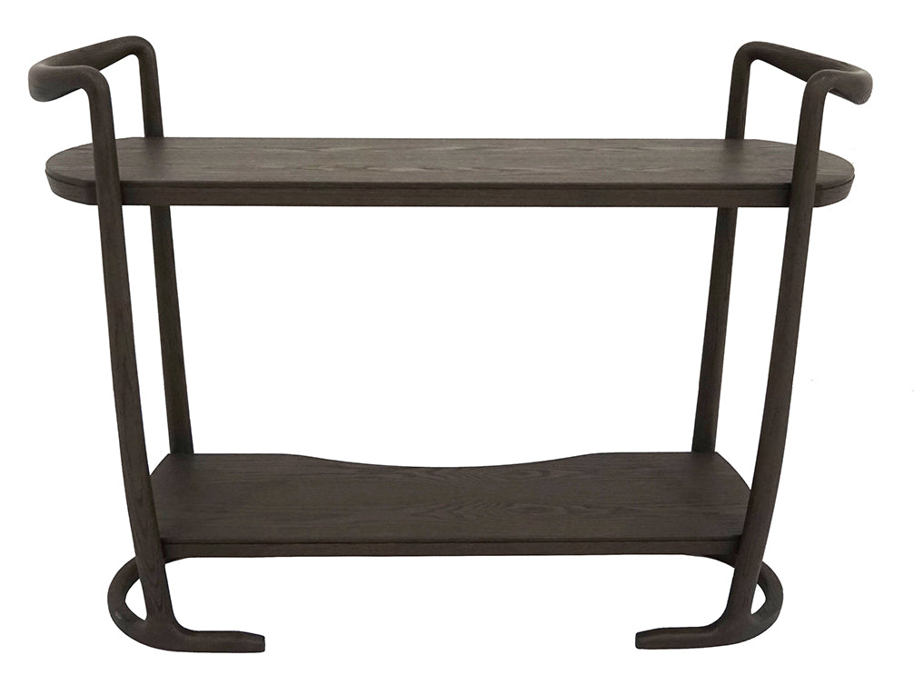 Side Console - 120 x 38 x h 90 - Brown - Mid Century Rhythm - André Fu Living