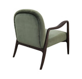 Armchair - 72 x 82 x h 78 - Brown and Olive Green - Mid Century Rhythm - André Fu Living