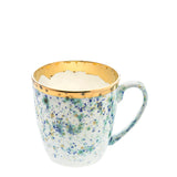 Large Mug 40cl  Blue Marble Porcelain - Piazza del Popolo Series - Coralla Maiuri - Shop Now at Sans Tabù