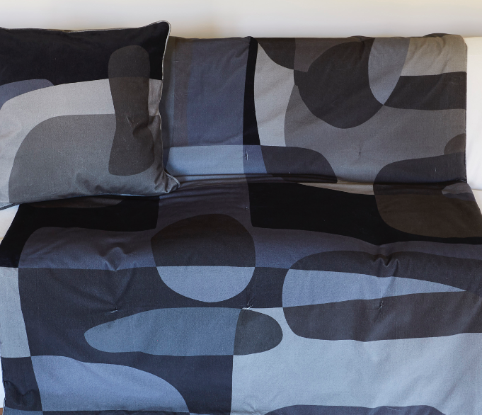 Blanket Love in Merino Wool - Midnight Blue - Eros Ludique - Sans Tabù