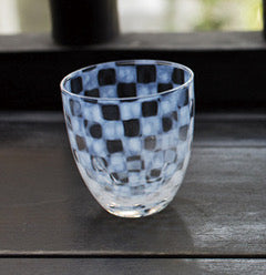 Tumbler Checker Large - Hirota Glass - Shop Now at Sans Tabù