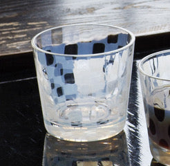 Tumbler Checker Small - Hirota Glass - Shop Now at Sans Tabù